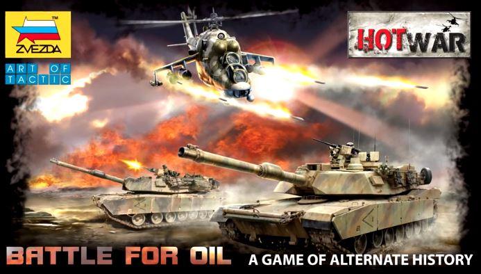 Hot War: Battle For Oil Box Front