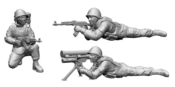 Hot War: Soviet Saxhorn Anti-tank Team Box Front