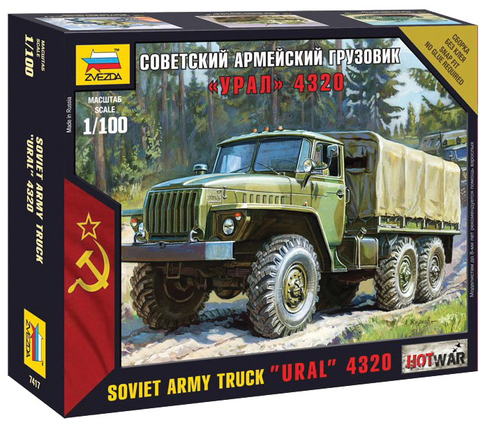 Hot War: Soviet Truck Box Front
