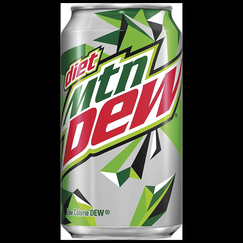 Soda Can - Diet Mt Dew (12oz)
